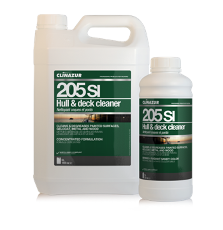 CLIN'AZUR 205SI Hull & deck cleaner 5Lt.