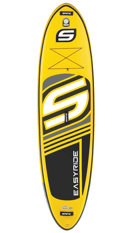 SAFE Easyride Inflatable Paddleboard YELLOW