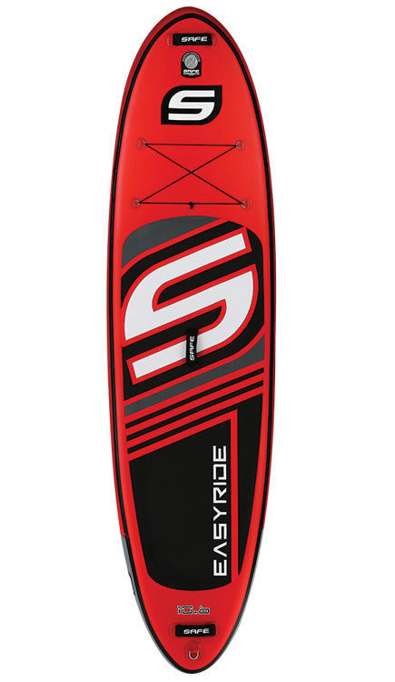 SAFE Easyride Inflatable Paddleboard RED